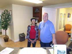 Greg Pike and Clarissa Milton, now part of the McKnight Senior Village team!